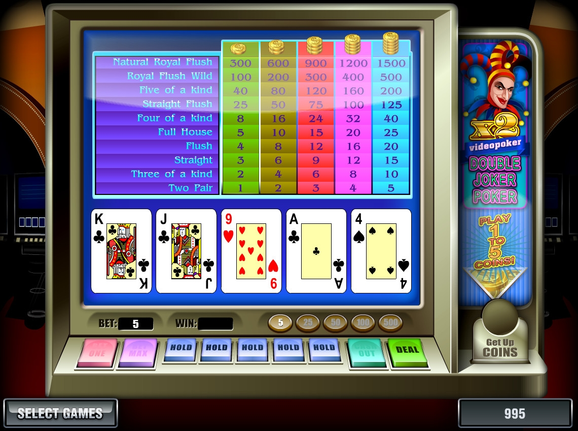 online casino games joker poker