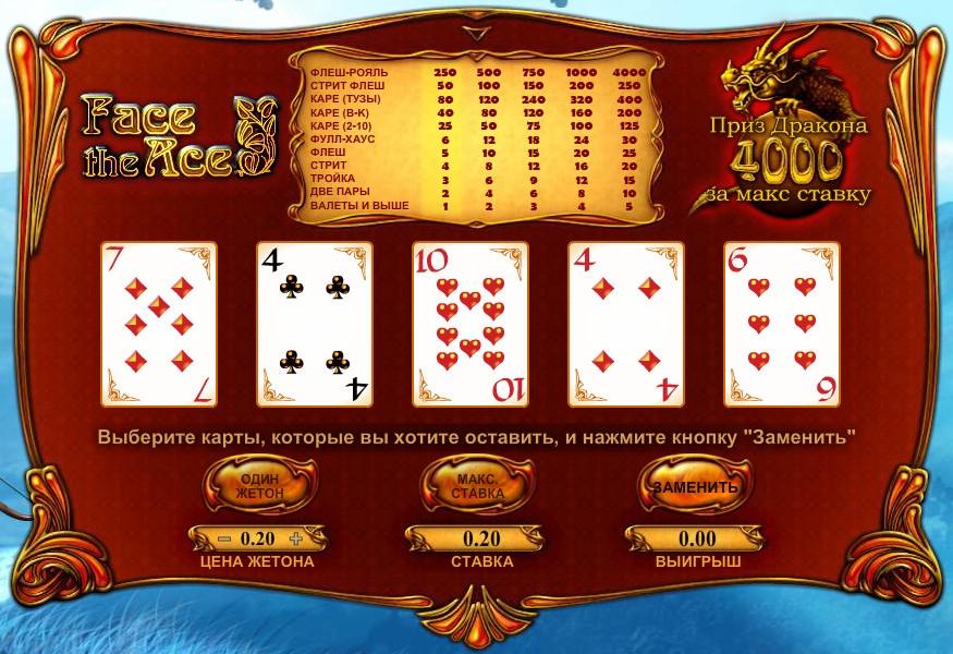 face the ace poker bovada poker