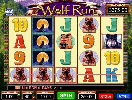 Wolf run slot machine gratis