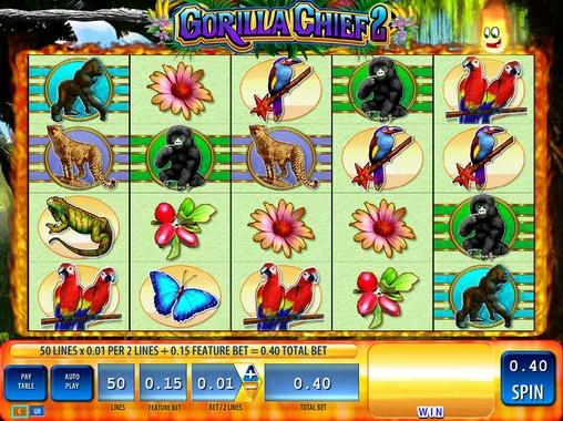 play gorilla chief slot machine free