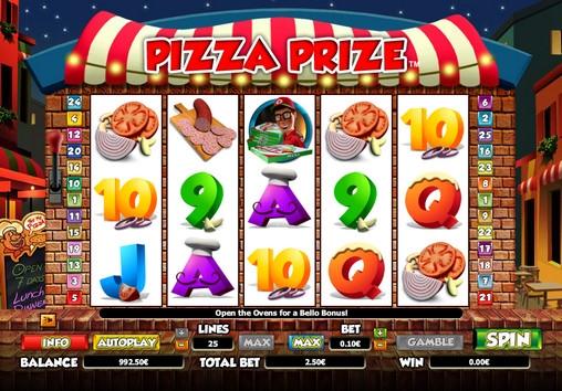 Slot machine pizza