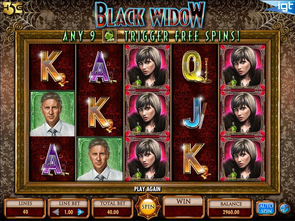 black widow free slot game download