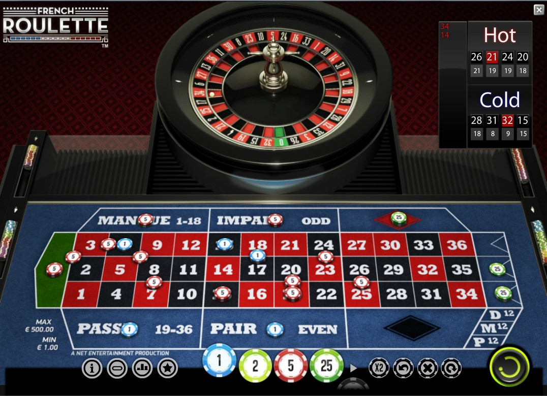 French Roulette (Французская рулетка) из раздела Рулетка