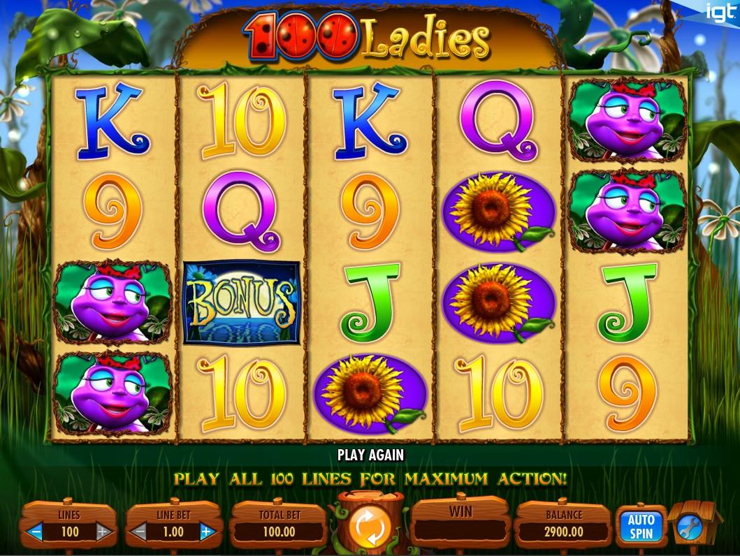 free 100 play poker slots