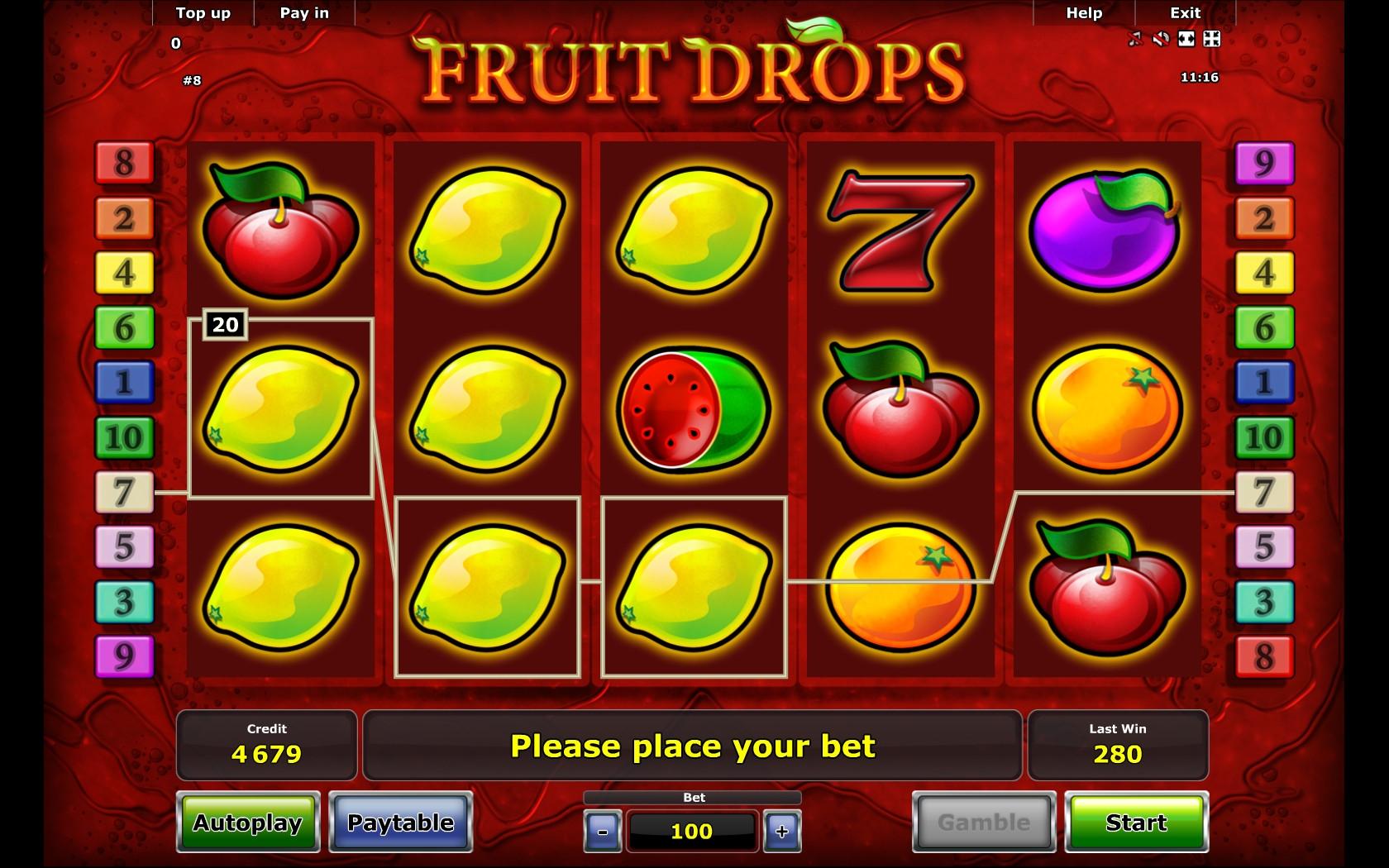 Online casino fruit machine valley view casino blackjack rules