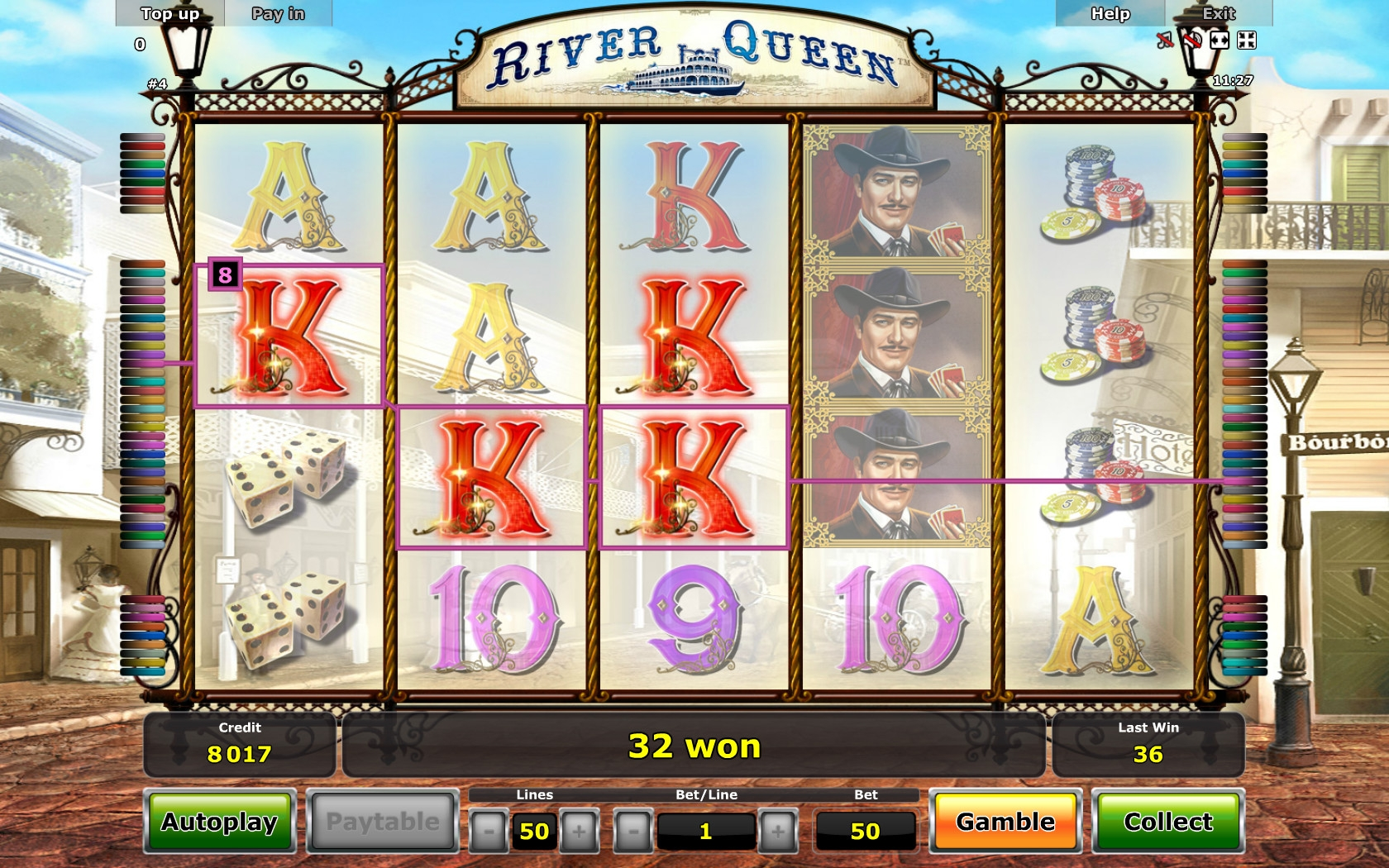 online slots no deposit river queen