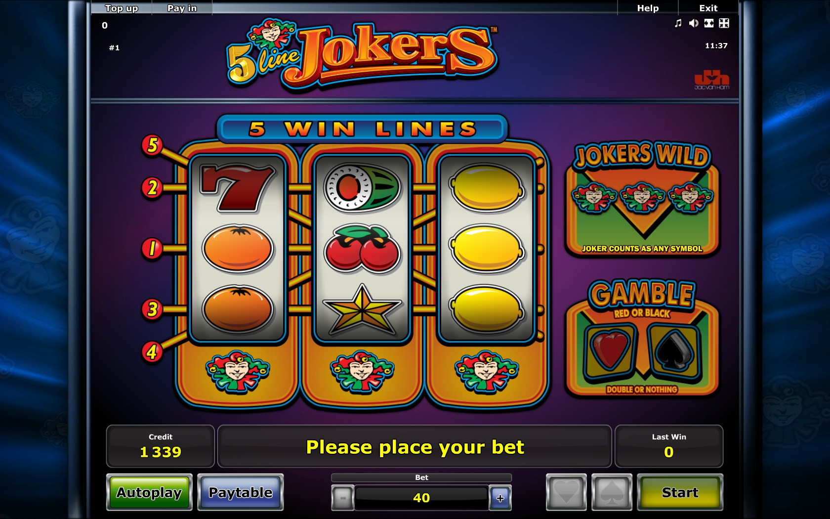 slot game free online jokers online