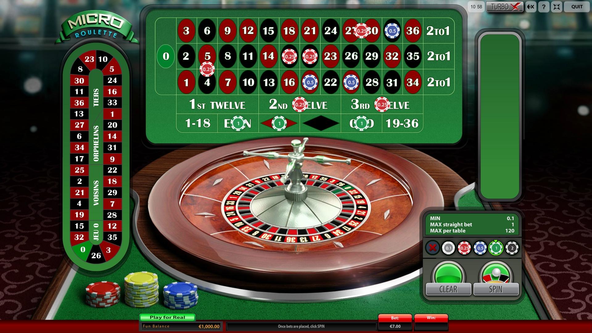 Metodo pari dispari roulette