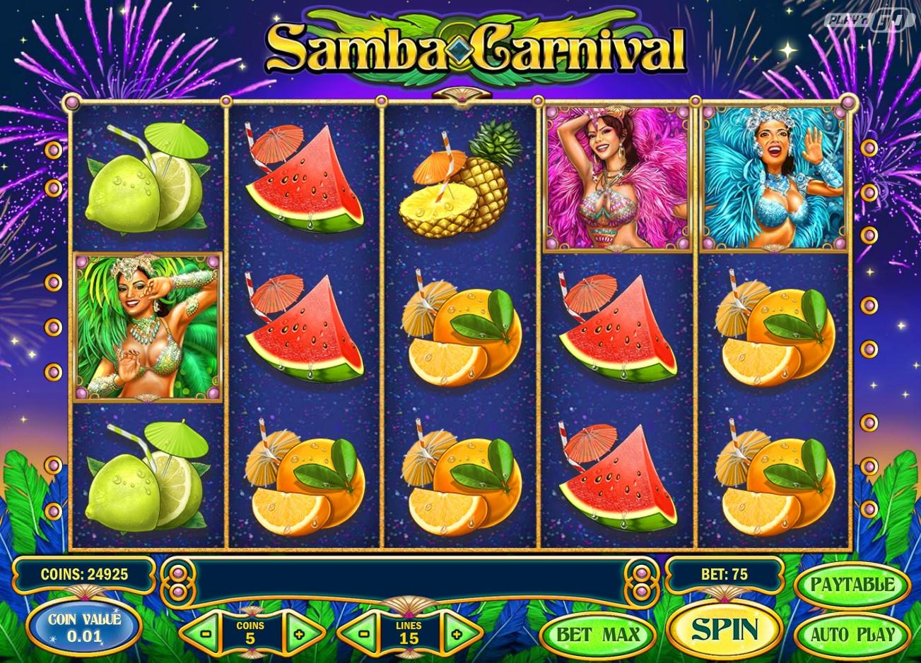 Тебе Play`n Go От Автомат Игровой Samba Carnival которую был