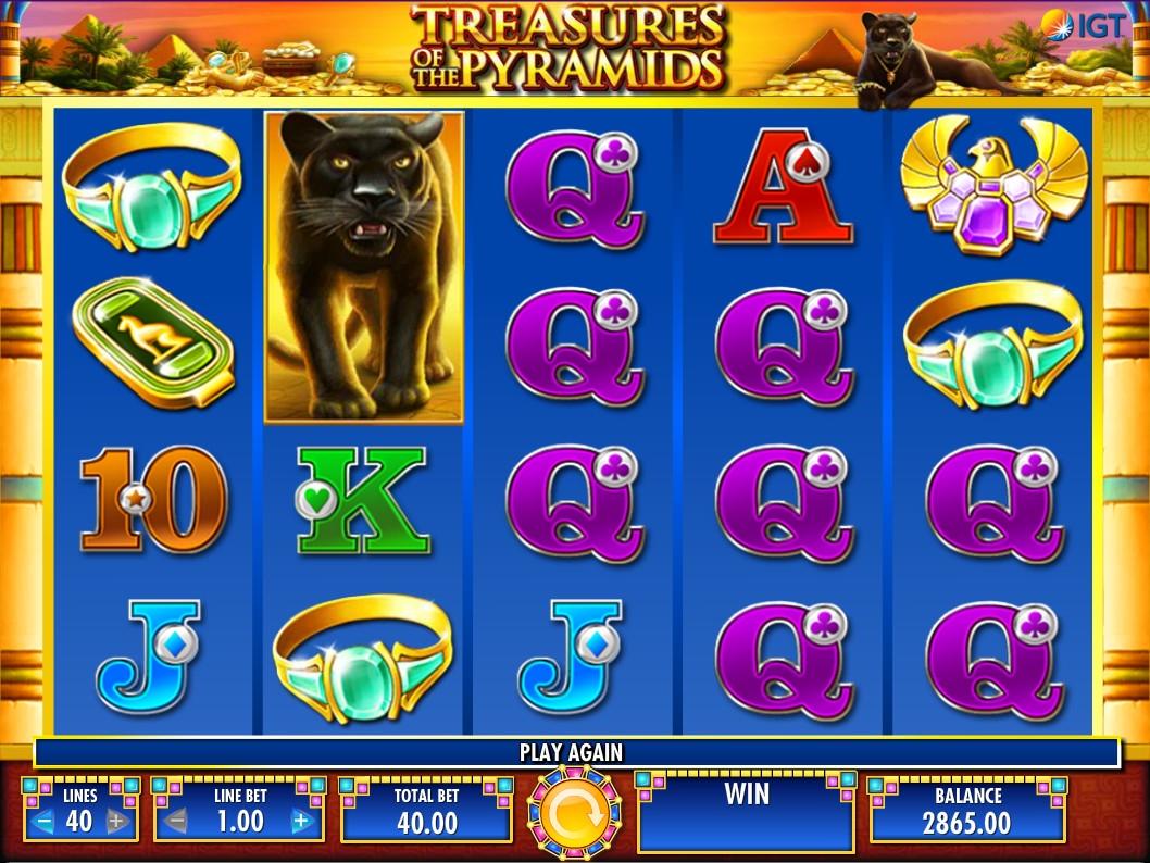 Slot machine treasures of the pyramids gratis