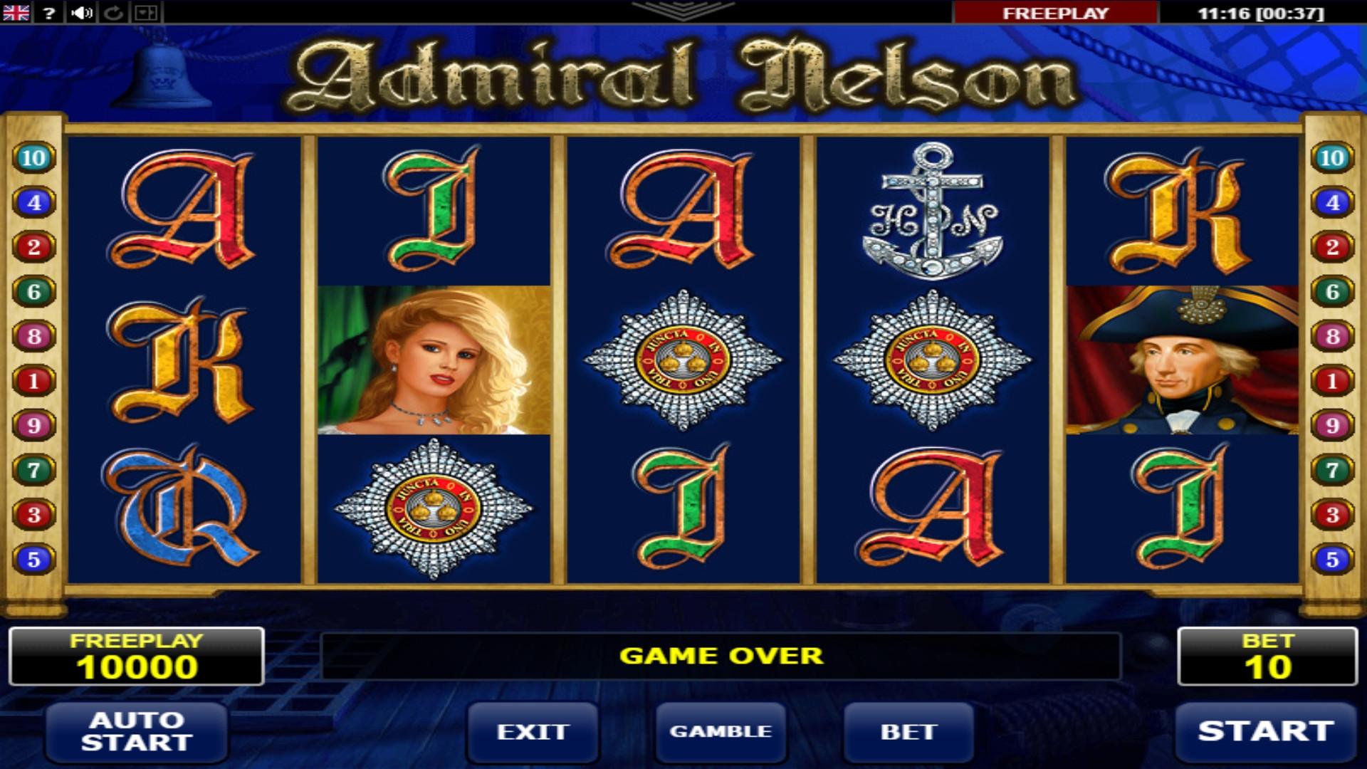 слот автомат адмирал