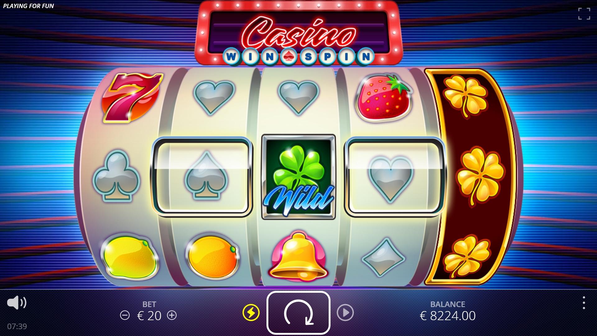 spin city casino скачать