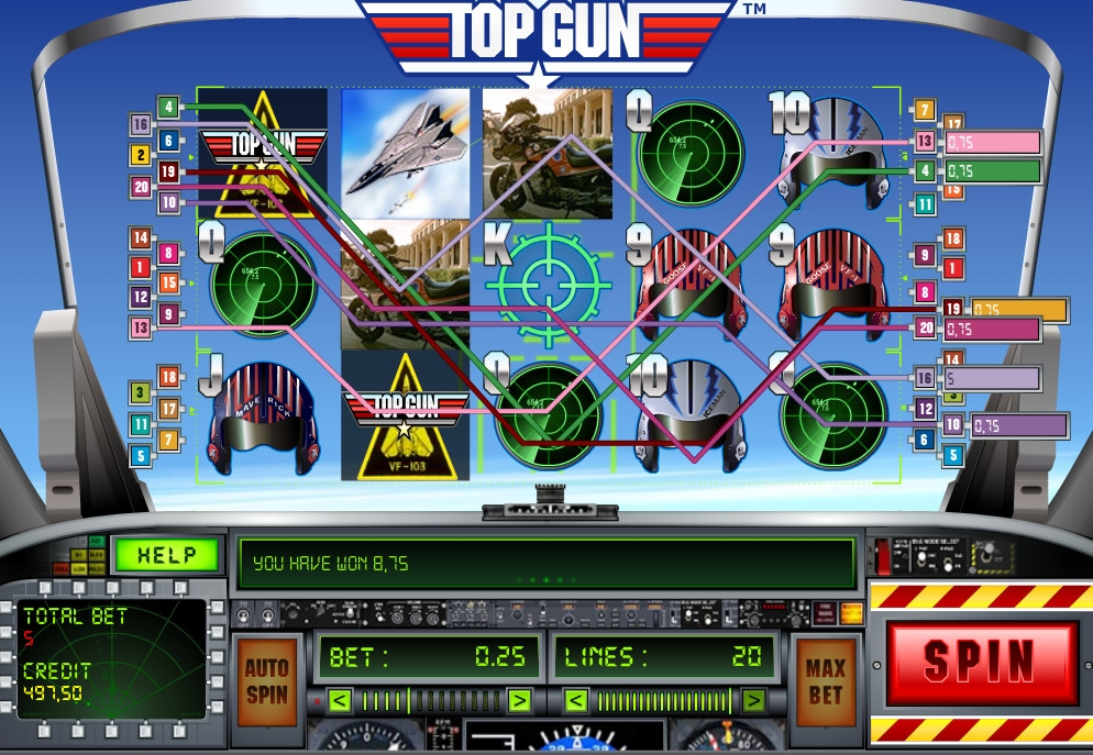 Top gun casino casinos 18 year olds