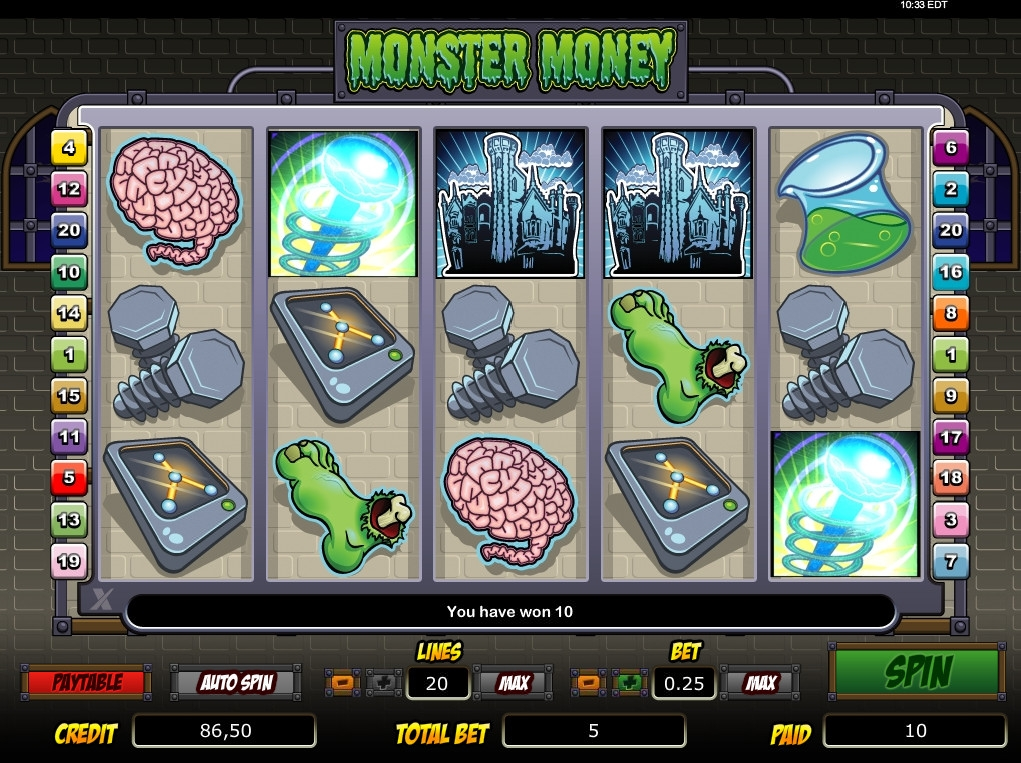 free slot games the monster