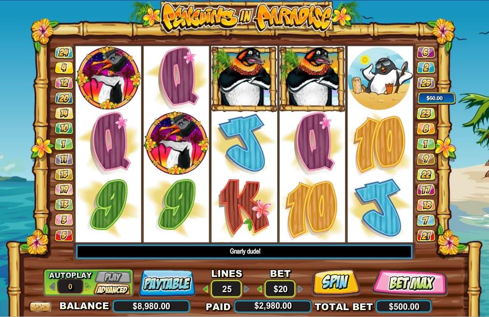 Игровой автомат Penguin Vacation онлайн - Gambledor com