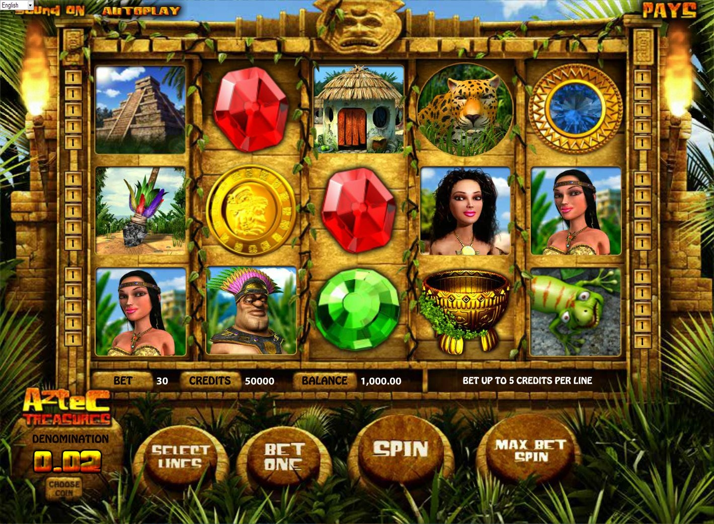 Aztec Glory Slot Machine - Review and Free Online Game