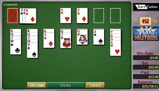 3 card draw solitaire free